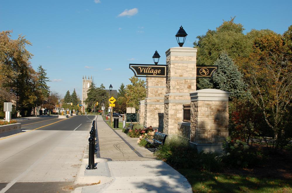 Ancaster Ontario street view