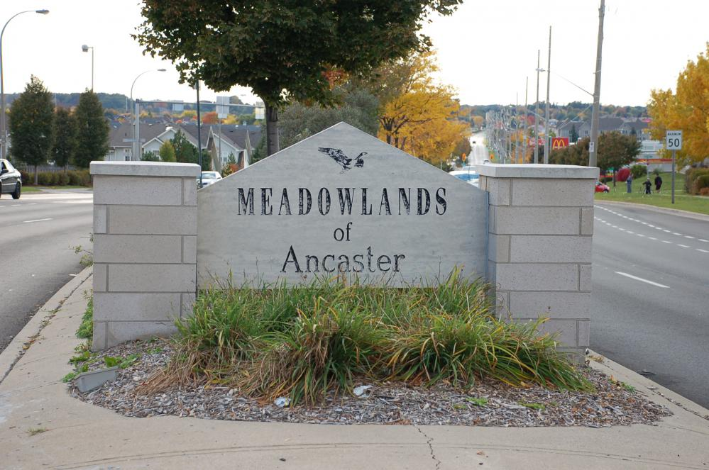 Ancaster Meadowlands Ontario street view